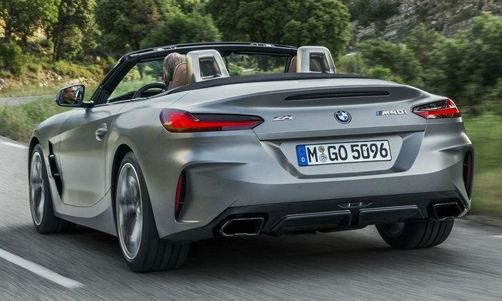BMW Z4 2019 รุ่นเครื่องยนต์ 2.0 ลิตร เตรียมเปิดตัวที่ปารีสมอเตอร์โชว์