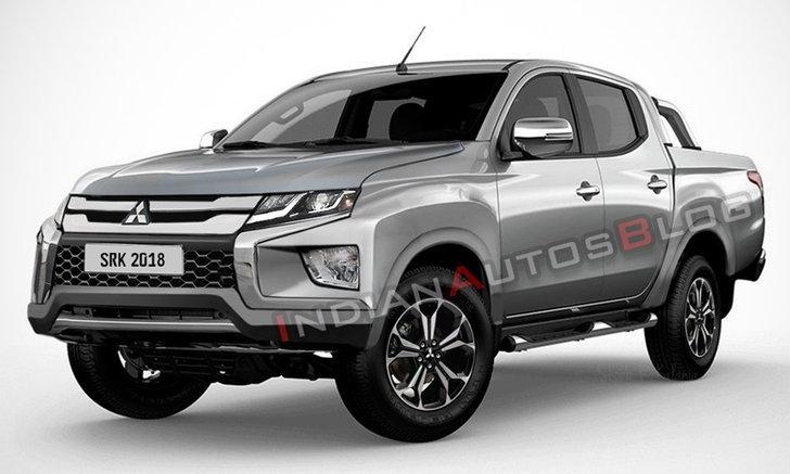 Mitsubishi Triton 2019 ไมเนอร์เชนจ์ใหม่อาจมีหน้าตาเป็นแบบนี้
