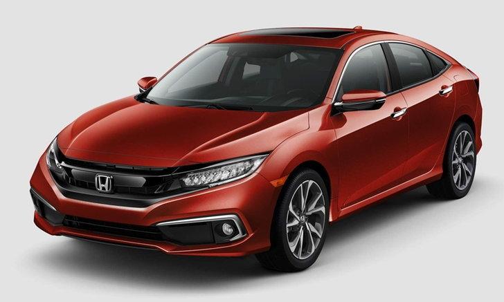 Honda Civic 2019 ไมเนอร์เชนจ์ใหม่เตรียมขายจริงในสหรัฐฯ ตุลาคมนี้