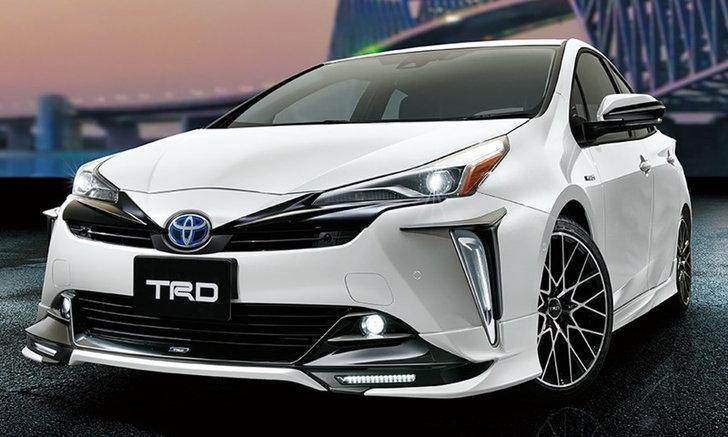 Toyota Prius 2019 ไมเนอร์เชนจ์เผยโฉมชุดแต่ง TRD รอบคันที่ญี่ปุ่น