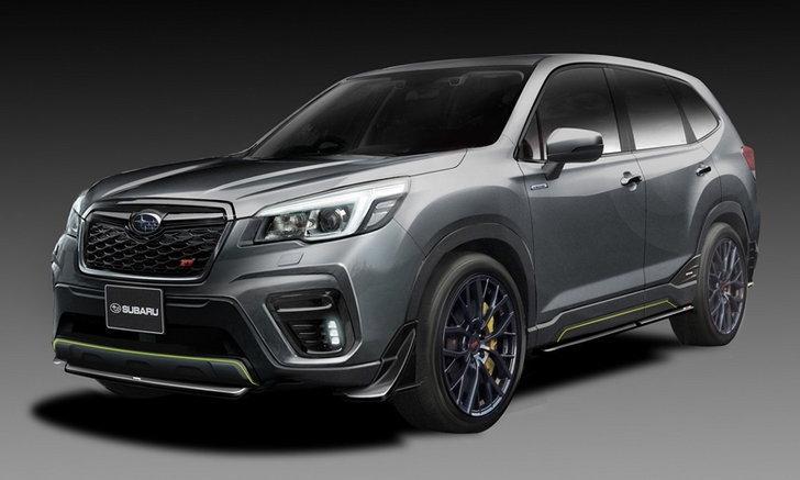 Subaru forester 2019 ราคา