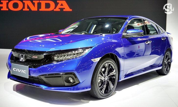 ไปดู Honda Civic 2019 สีน้ำเงิน Brilliant Sporty ใหม่ สวยโดนใจขึ้นเยอะ