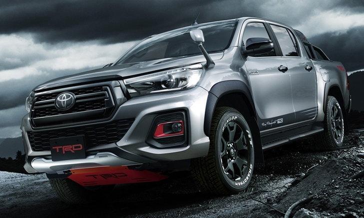 Toyota Hilux Black Rally Edition 2019 พร้อมชุดแต่ง TRD เตรียมเผยโฉมที่ญี่ปุ่น