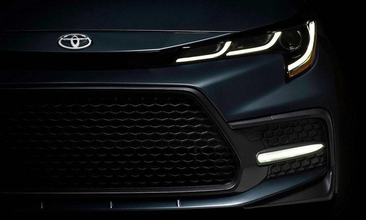 ของจริง! Toyota Altis 2019 ปล่อยทีเซอร์คันจริงก่อนเปิดตัว 16 พ.ย.นี้