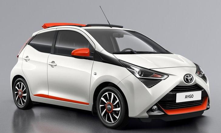 Toyota Aygo X-Cite/X-Style 2019 ใหม่ สองรุ่นพิเศษเตรียมเปิดตัวที่เจนีวา