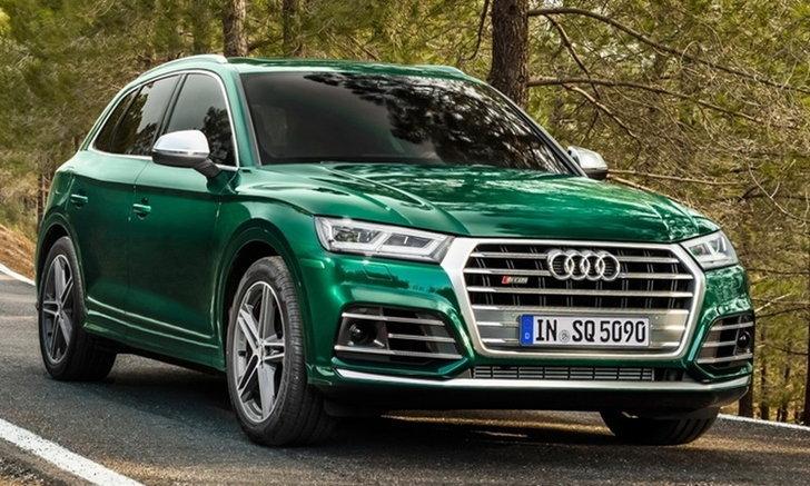 Audi SQ5 Diesel 2019 ใหม่ พร้อมขุมพลังไมลด์ไฮบริดดีเซล 347 แรงม้า!