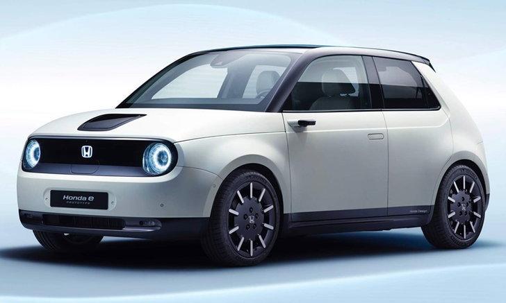 Honda e Prototype 2019 ใหม่ ต้นแบบรถไฟฟ้ารุ่นเล็กเผยโฉมจริงแล้ว