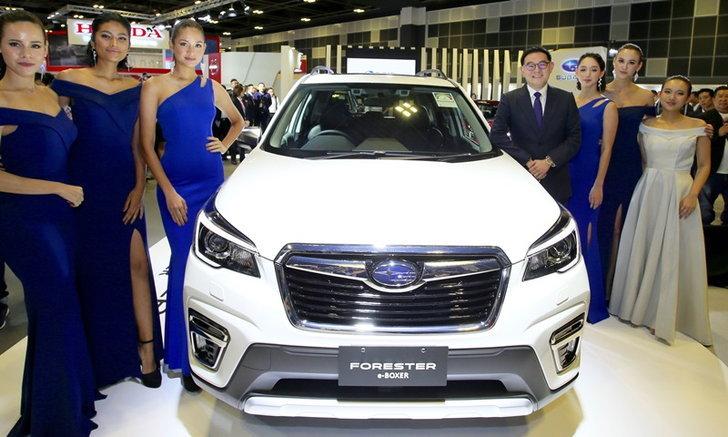 Subaru Forester e-Boxer 2019 ใหม่ พร้อมขุมพลังไฮบริดประหยัด 18.5 กม./ลิตร