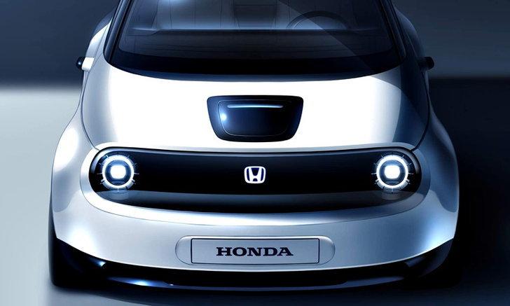 Honda เผยทีเซอร์รถไฟฟ้ารุ่นเล็กก่อนเปิดตัวจริง มี.ค.นี้