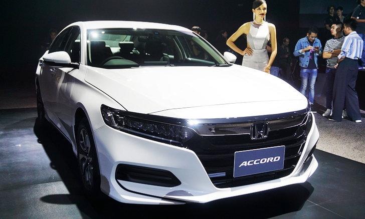 All-new Honda Accord 2019 (G10) ใหม่ เคาะราคาขายจริง 1.475 - 1.799 ล้านบาท
