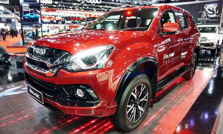 ราคารถใหม่ Isuzu ในตลาดรถประจำเดือนเมษายน 2562