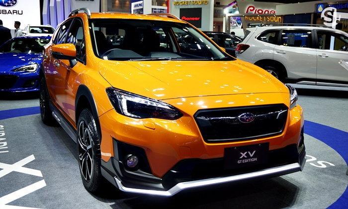 ราคารถใหม่ Subaru ในตลาดรถยนต์เดือนสิงหาคม 2562