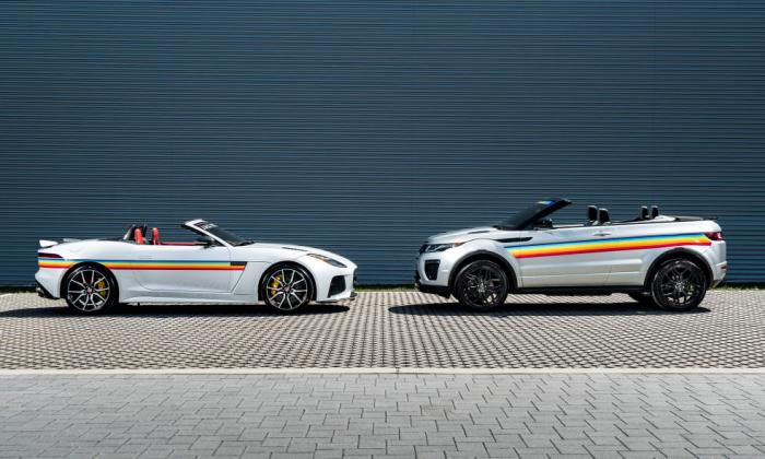 Jaguar Land Rover เปิดตัวรุ่นพิเศษคาดลายสีรุ้งร่วมฉลองส่งท้าย Pride Month