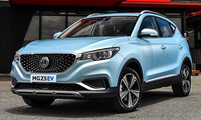 ราคารถใหม่ MG ในตลาดรถยนต์ประจำเดือนกรกฎาคม 2562