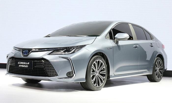 ราคารถใหม่ Toyota ในตลาดรถประจำเดือนกรกฎาคม 2562