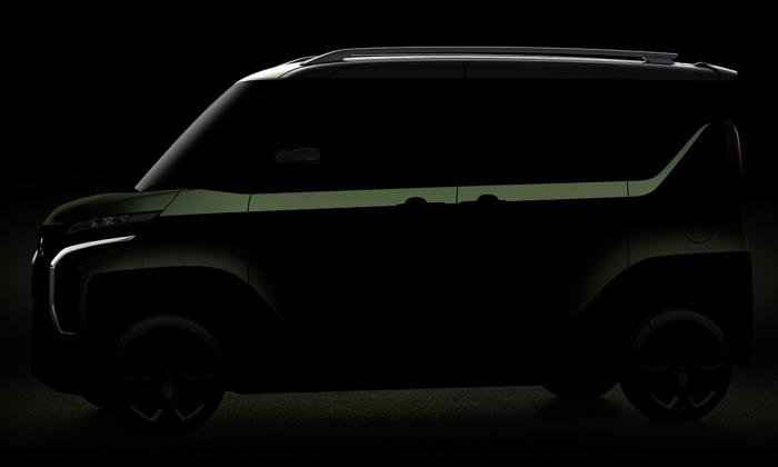 ภาพตัวอย่าง Mitsubishi Super Height K-Wagon Concept เอสยูวีไซส์กะทัดรัด