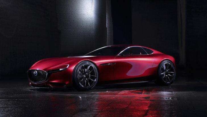 ภาพสมัยตอนที่เป็น Mazda RX-Vision Concept