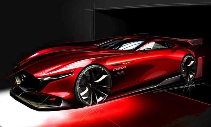 ภาพทีเซอร์ Mazda RX-Vision GT3 Concept ก่อนไปโผล่ในเกมแข่งรถชื่อดังปีหน้า