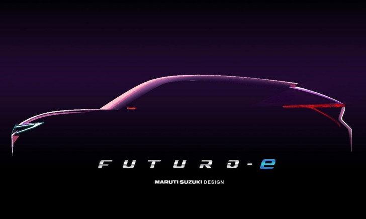 Maruti Suzuki Futuro-e Concept กับภาพทีเซอร์สุดโฉบเฉี่ยวก่อนเปิดตัวที่อินเดีย
