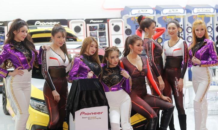 Motor Expo 2019: ส่องสเต็ปเร่าร้อนจากแก๊งสาว Pioneer-Rocket Sound (คลิป)
