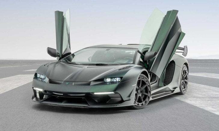 เวอร์ชั่นแปลกตา! Lamborghini Aventador SVJ กับโครงด้านหน้าที่แทบจำไม่ได้
