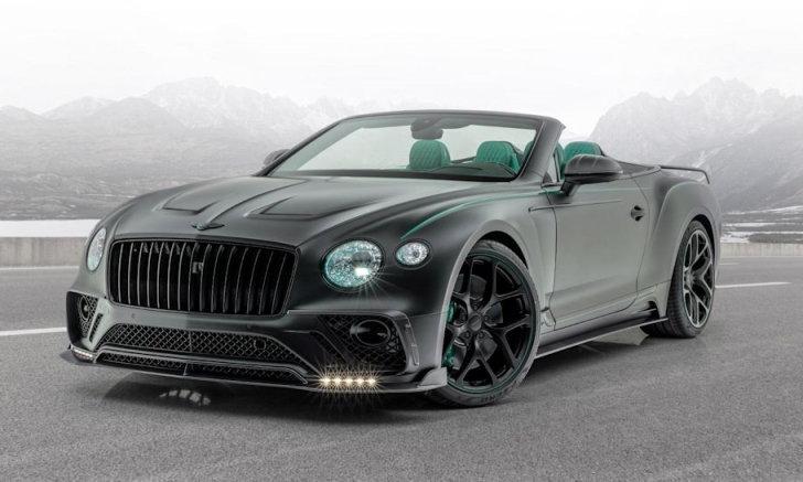 Bentley Continental GT V8 Convertible แต่งใหม่ มาพร้อมสีเขียวโครเมียมออกไซด์สะดุดตา