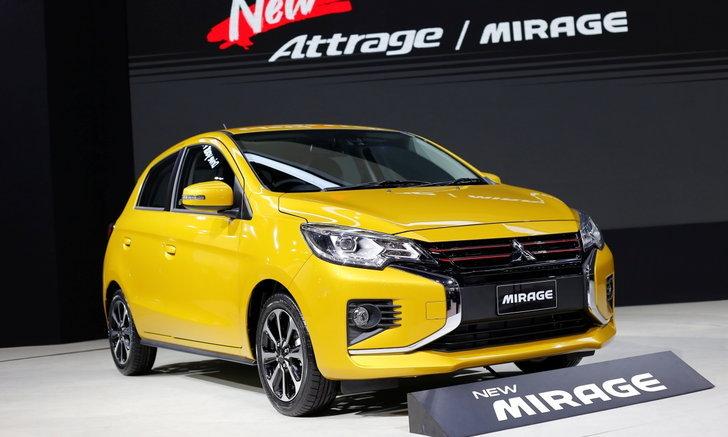 ราคารถใหม่ Mitsubishi ในตลาดรถยนต์ประจำเดือนกุมภาพันธ์ 2563