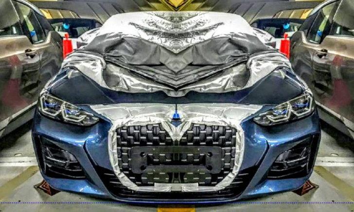 โนสนโนแคร์! ภาพหลุด BMW 4 Series 2021 มาพร้อมกระจังหน้าไตคู่ขนาดใหญ่