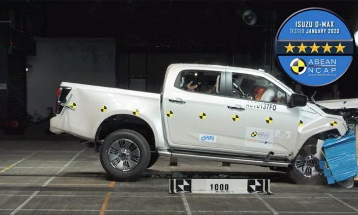 ส่องคลิป All-new Isuzu D-Max กับการคว้ามาตรฐานความปลอดภัย 5 ดาวจาก ASEAN NCAP