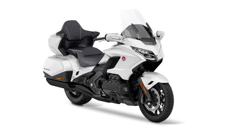 New Honda GOLDWING รุ่นไมเนอร์เชนจ์ ขาวละมุนหรูหราในราคา 1.34 ล้าน