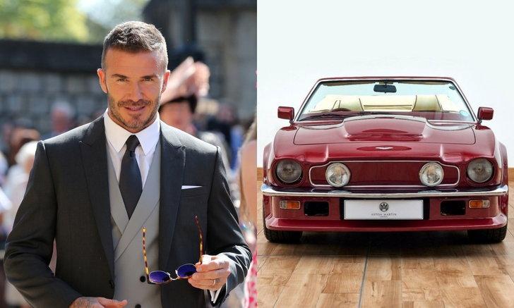 """อย่างเท่! Aston Martin V8 Volante อดีตคันโปรดของ """"เดวิด เบ็คแฮม"""" ค่าตัวกว่า 17 ล้าน"""