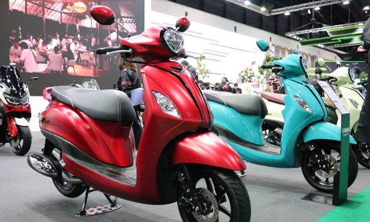 มอเตอร์โชว์ 2020 : Yamaha Grand Filano Hybrid ล่าสุด จัดเต็ม 6 เฉดสีใหม่สุดบาดตา