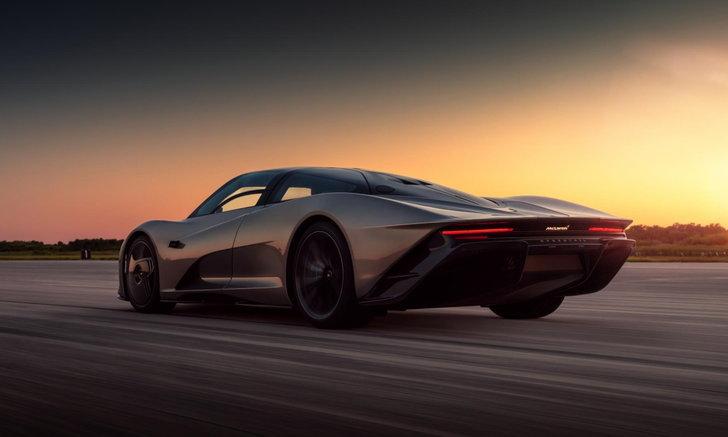 ใครสนขอเรียนเชิญ เมื่อ McLaren Speedtail คันนี้ถูกอัปราคาเป็น 157 ล้านบาท!