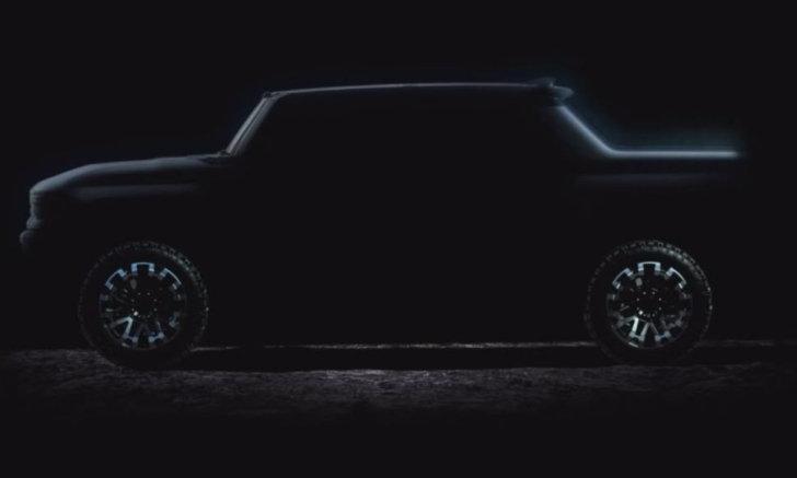 ทีเซอร์ล่าสุด GMC Hummer EV ไฟฟ้า 2 สายพันธุ์ จ่อเปิดตัวพร้อมให้จองในอีกไม่ช้า