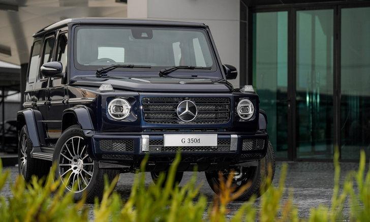 ราคารถใหม่ Mercedes-Benz ในตลาดรถประจำเดือนกรกฎาคม 2563