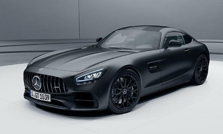 ขุมพลังมากกว่าเดิม! Mercedes-AMG GT 2021 รุ่นพิเศษ Stealth Edition มาแน่ต้นปีหน้า