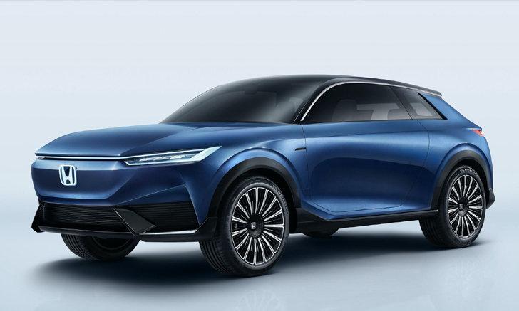 Honda SUV e:concept รถต้นแบบพลังงานไฟฟ้าเผยโฉมอย่างเป็นทางการที่จีน