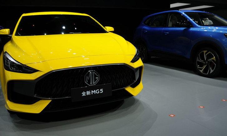ไม่เกี่ยวกัน! MG5 ตัวใหม่ที่ถูกกล่าวหาว่าหน้าคล้าย Hyundai, ท้ายเหมือน Mercedes