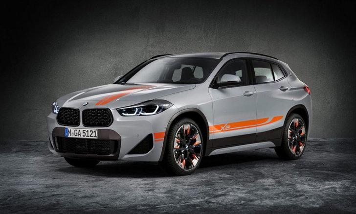 สวยสะดุดตา! BMW X2 M Mesh Edition ครอสโอเวอร์รุ่นพิเศษชุดแต่งแท้จากโรงงาน