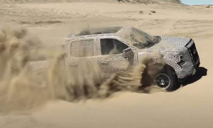 All-New Ford F-150 รุ่นไฮบริด ทดสอบสุดโหด สมชื่อกระบะเกิดมาแกร่ง