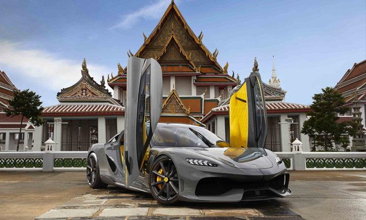 มาถึงไทยแล้ว! Koenigsegg Gemera รถไฮเปอร์คาร์สุดหรูเคาะราคาขาย 110 ล้านบาท