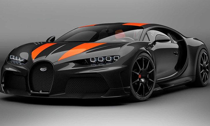 วาระพิเศษ! Bugatti เปิดตัวแชมเปญฉลองสถิติความเร็ว Chiron Super Sport 300+