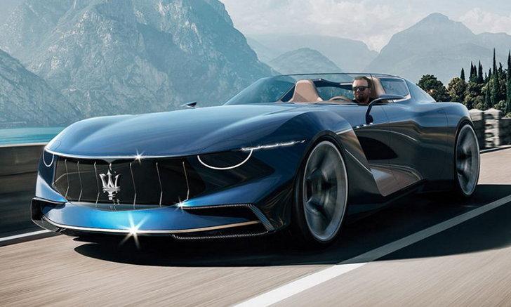 อนาคตของค่าย! ยลโฉมและศึกษาการออกแบบของ Maserati GranTurismo Targa