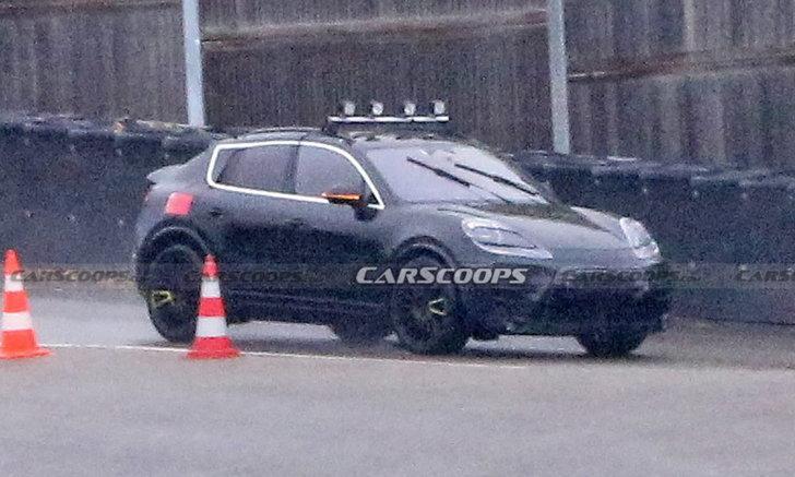 ทรง Coupe-SUV มาเลย! ภาพหลุด Porsche Macan พลังไฟฟ้าขณะวิ่งทดสอบ