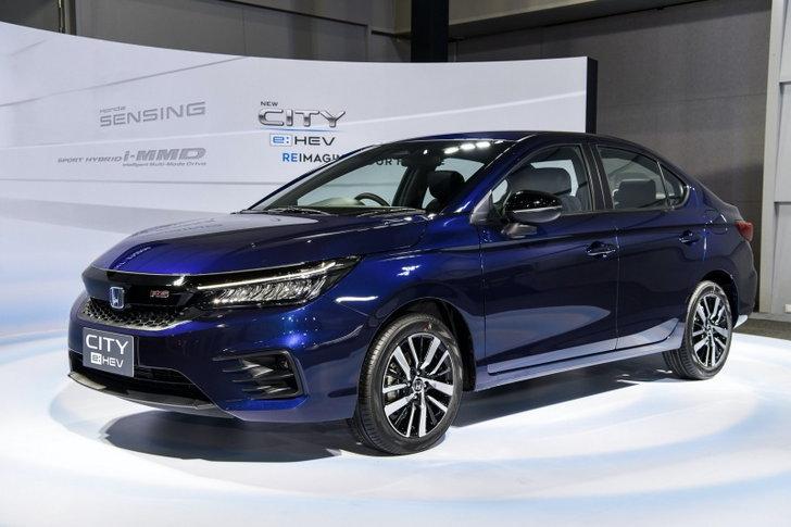Honda City e:HEV 2021 ใหม่ ขุมพลังไฮบริด 1.5 ลิตร เคาะราคา 839,000 บาท