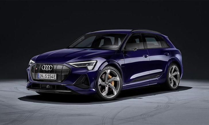กำลัง 503 แรงม้า! Audi E-Tron S เอสยูวีพลังไฟฟ้าเวอร์ชั่นแรงมาพร้อมมอเตอร์ไฟฟ้า 3 ตัว