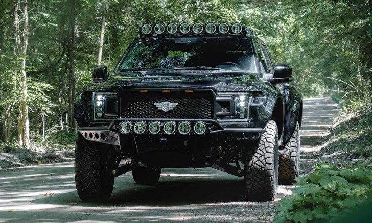 แกร่งเท่ารถถังก็คันนี้แหละ! Ford F-150 Mil-Spec กระบะเวอร์ชั่นรถทหารกำลัง 657 แรงม้า