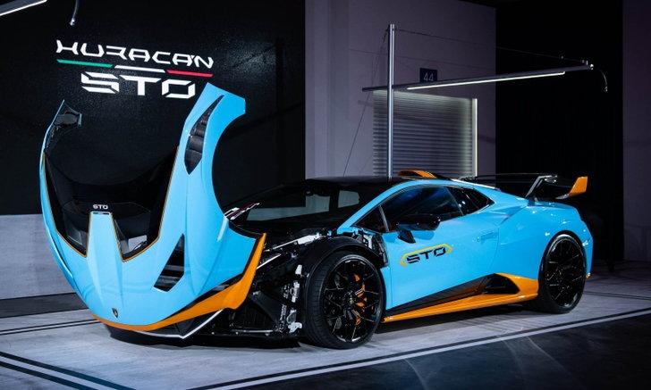 Lamborghini Huracán STO 2021 ใหม่ เผยโฉมจริงในไทย ราคา 29,990,000 บาท