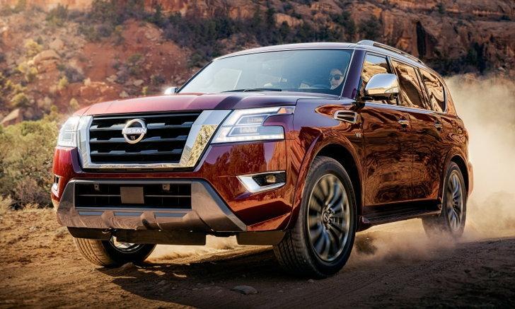 Nissan Armada 2021 ใหม่ เอสยูวีรุ่นใหญ่ขุมพลัง V8 เปิดตัวในสหรัฐฯ