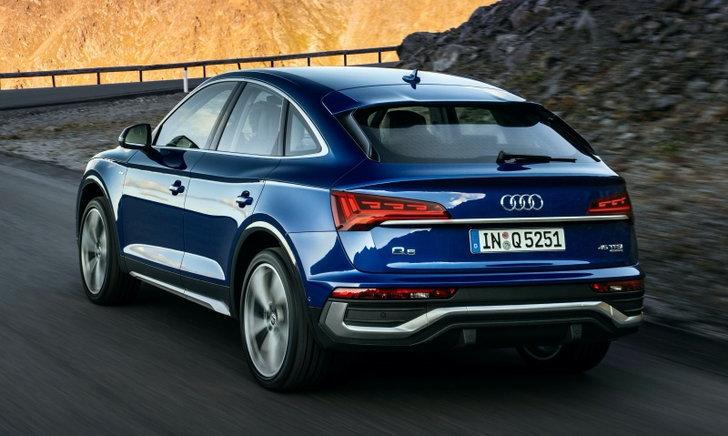 Audi Q5 Sportback 2021 ใหม่ เอสยูวีคูเป้รุ่นล่าสุดเปิดตัวครั้งแรกที่ยุโรป